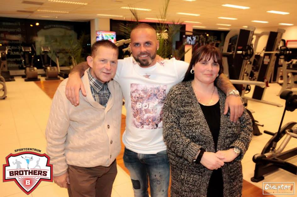 Sportcentrum Brothers Bappie met ouders